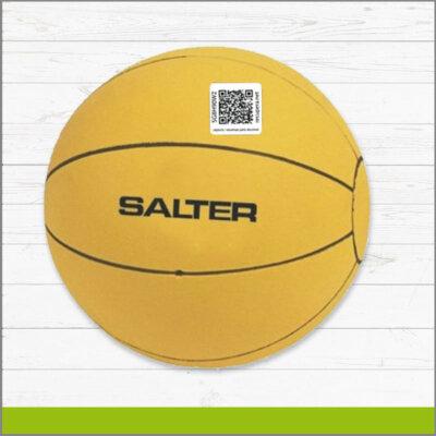 Etiqueta con Identificador QR para Balón de Basketball