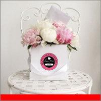 Etiqueta Circular para Regalos del Dia de San Valentín para el 14 de Febrero