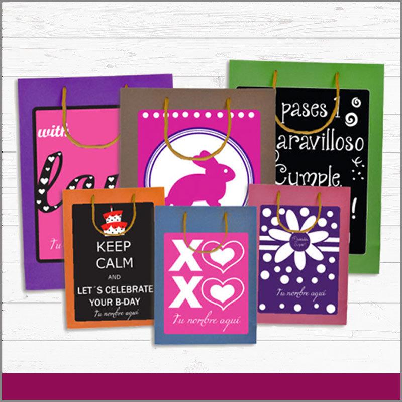 Bolsas Personalizadas de Colores con las Imágenes Que Más Te Guste para Cualquier Festividad