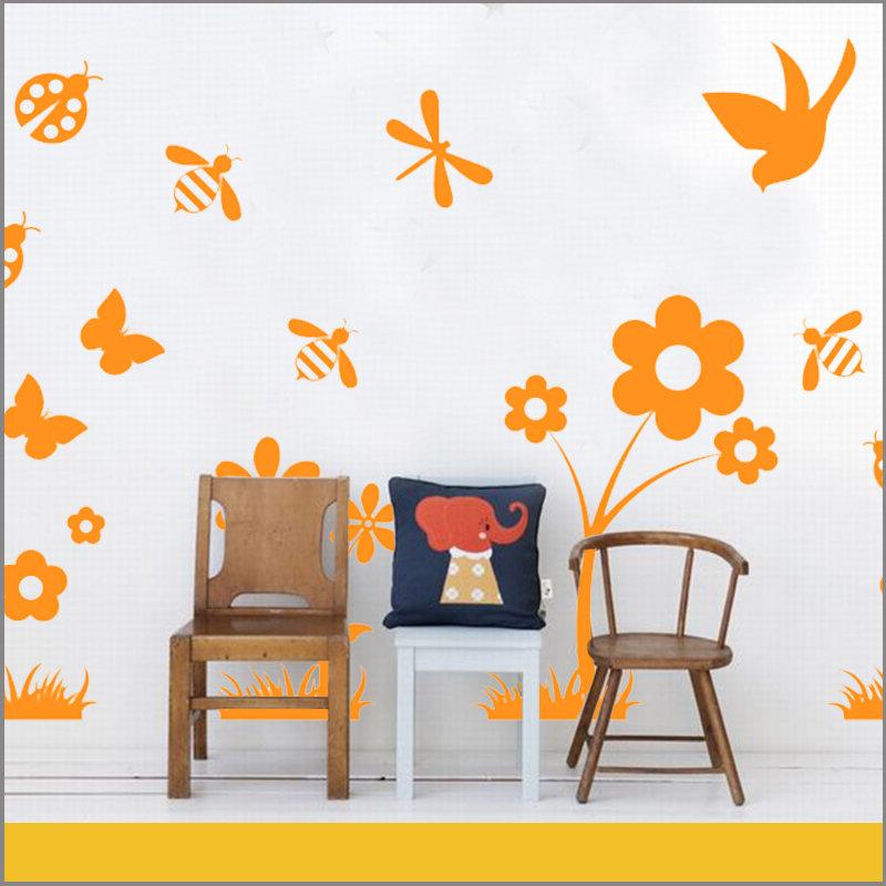 Vinilos Decorativos Infantiles para Niñas Primavera