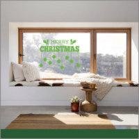 Vinil De Navidad para Ventana
