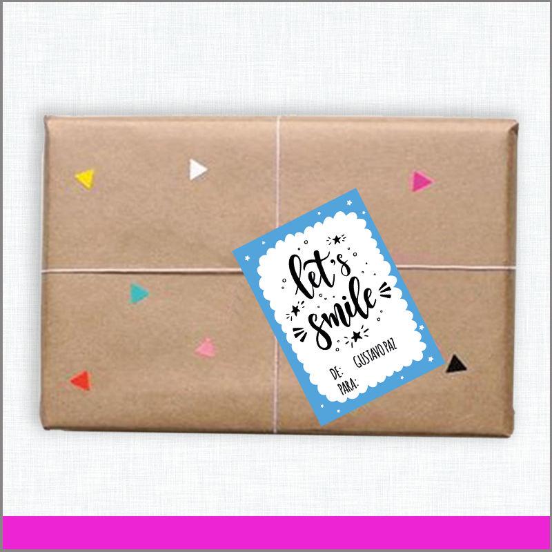 Etiquetas de regalo con las imágenes que más te gustan