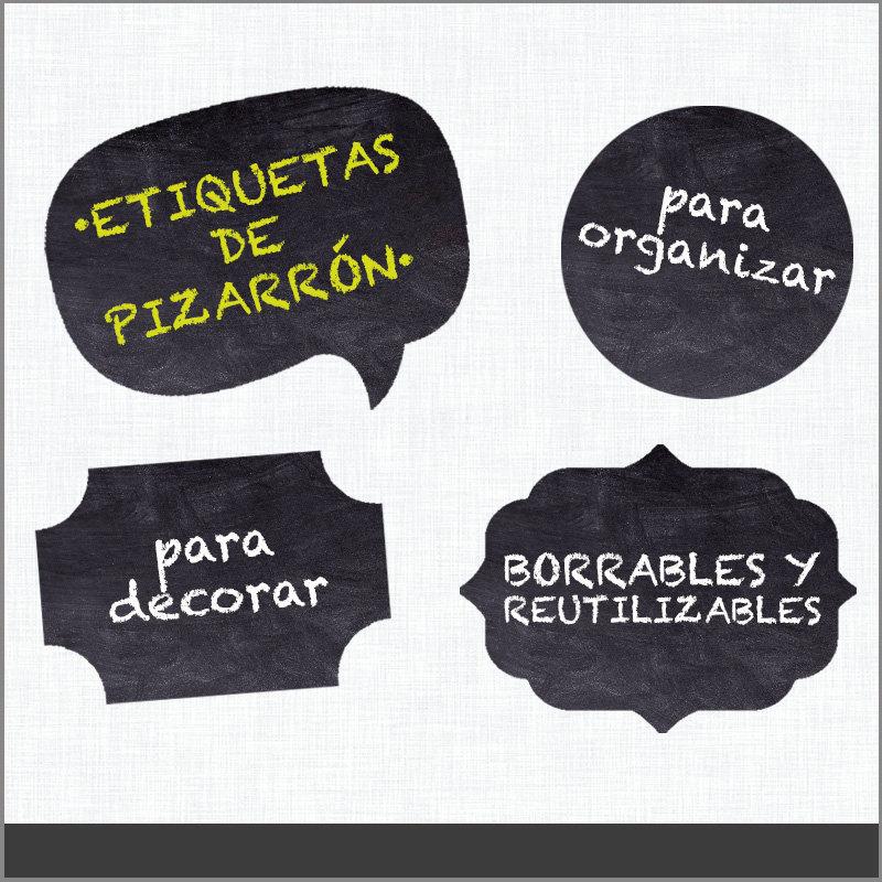 Etiquetas para Frascos Editables