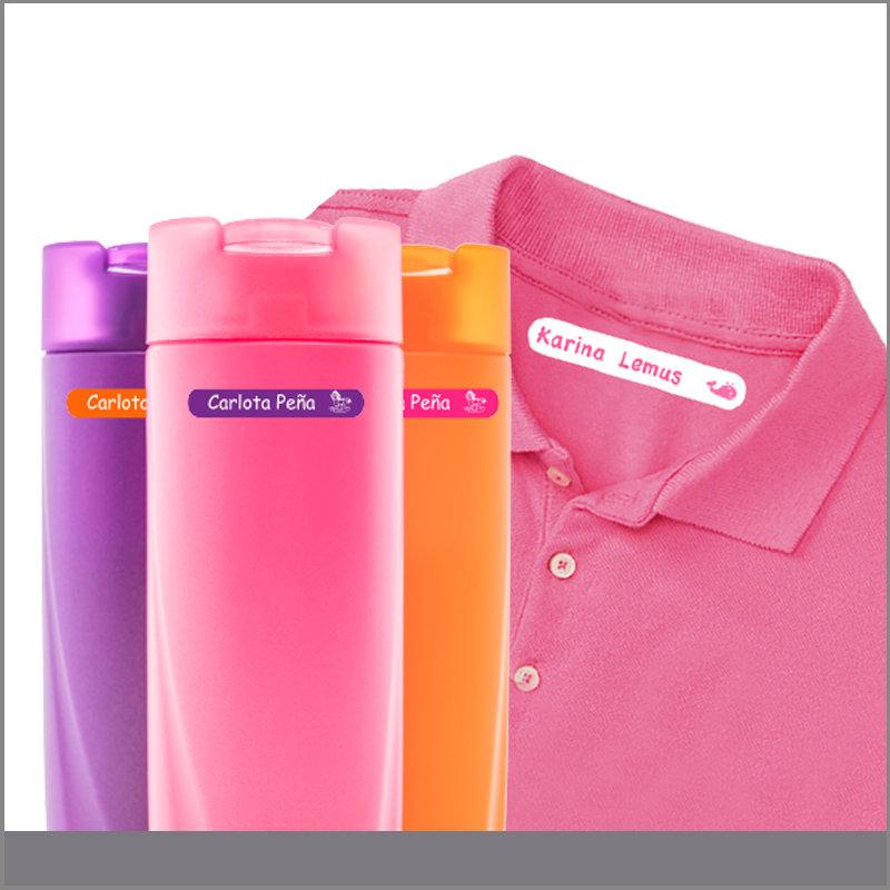 Etiquetas para Termos de Plastico y Camisa