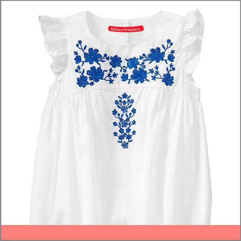 Etiqueta para Vestido de Bebé Color Blanco