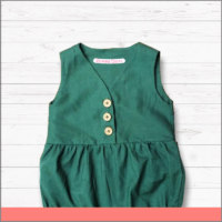 Etiqueta para Ropa de Bebé Verde