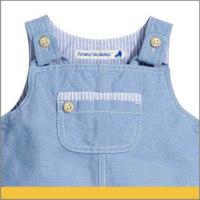 Etiqueta personalizada para Ropa Azul de niños