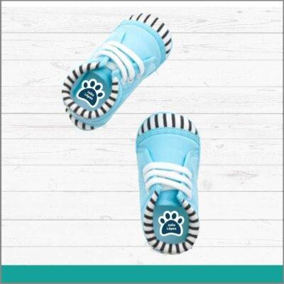 Etiquetas para calzado de huella