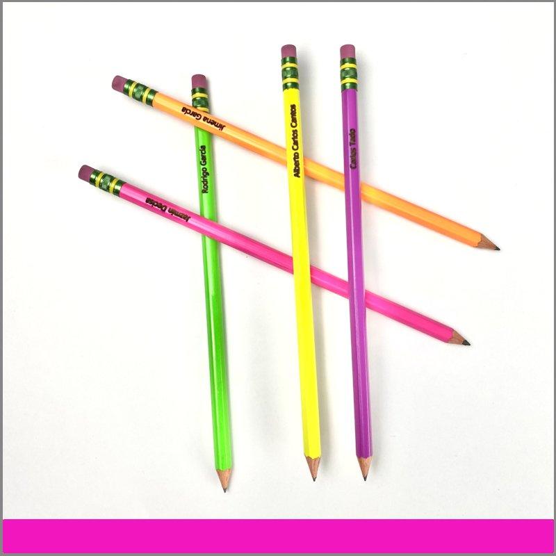 Lápices con grabado láser