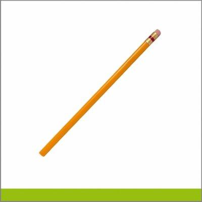 Lápices triangulares con grabado metálico