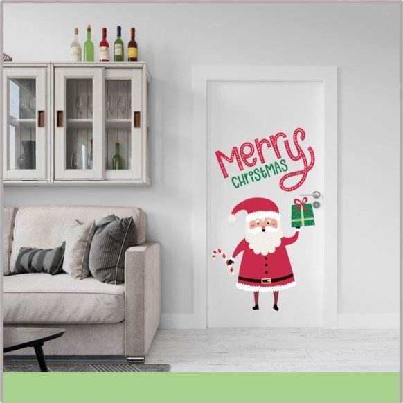 Vinil de Santa Claus